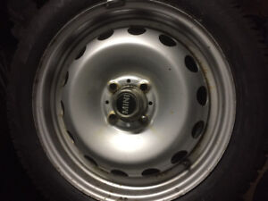 """16"""" Mini Cooper/S factory winter tire package. 4x100 bolt patter"""