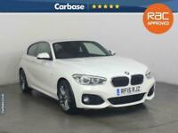 2015 BMW 1 Series 118i M Sport 3dr HATCHBACK Petrol Manual