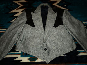 Western tailored jacket - size 46 Prince George British Columbia image 1