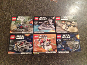 LEGO STAR WARS Microfighters – New – Sealed Box