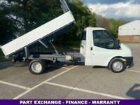 2012 Ford Transit 2.2 350 3.5t. Twin Rear Wheels 100Bhp Mwb Tipper TIPPER Diesel