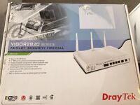 Draytek Vigor ADSL modem router firewall