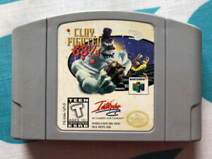 Clay fighters N64