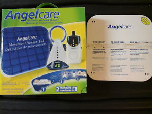 Angelcare Movement and Sound Monitor with Extra Sensor Pad