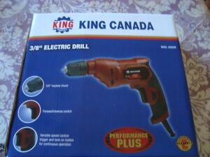 New-plug in drill