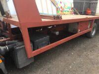 06 eurocargo 19/6 bed e7.5 ton Px poss