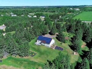 Secluded Hideaway For Sale with acerage in Prince Edward Island