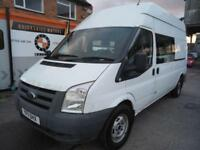 2011 Ford Transit 2.4TDCi Duratorq (100PS) 350 LWB 5 SEATER MESS CAMPER WELFARE