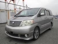 Toyota Alphard direct Japan import supplied fully UK Reg