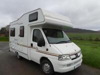 Elddis Expedition 200 4 berth rear lounge coachbuilt motorhome for sale