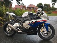 BMW S1000RR SPORT ABS 2010 MOTORSPORTS IMMACULATE 5024 MILES