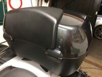 BMW 49ltr top case with back rest - R1200RT / K1600 GT and more!