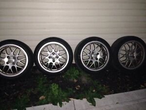 """17"""" BBS RX wheels General Tire Extreme UHP"""