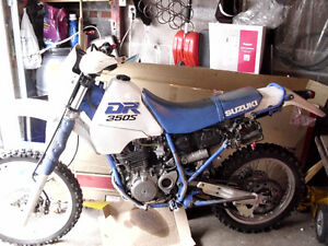 NICE BLUE PLATED DIRT BIKE IN TIME FOR SUMMER