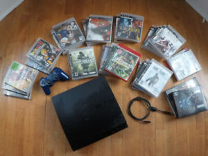 PS3 + 1 controller + Games