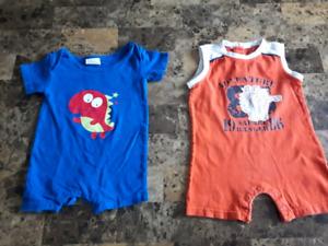 Vêtements *** ÉTÉ  *** 6 à 12 mois garçon