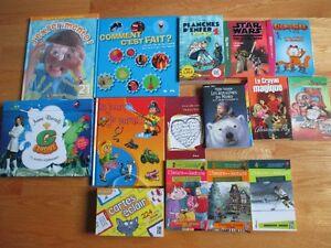 Livres variés pour enfant