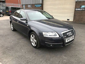 2007 AUDI A6 2.0 TDI SE SALOON,84000 MILES WITH FULL AUDI SERVICE HISTORY,