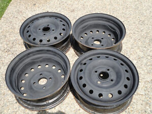 Steel Rims (Rims only)for your Winter Tires