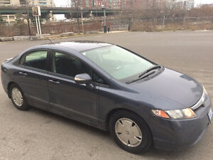 2007 Honda Civic Hybrid Sedan - mint condition (only 111k km)