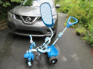 TRIKES WITH PUSH BARS (3) - REDUCED!!!!