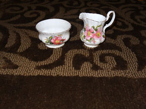 Prairie Rose China - assorted pieces Strathcona County Edmonton Area image 10