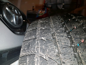 Winter tires on rims for sale 215/70r16 100t