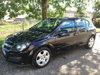 56 Reg Vauxhall Astra 1.6 Club Twinport (NEW SHAPE ).not focus megane 307 vectra mondeo golf fiesta