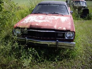 1976 Plymouth duster parting out