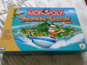 TROPICAL  TYCOON  MONOPOLY  GAME