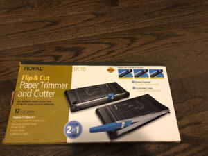 Royal DC10 Paper Trimmer and Cutter