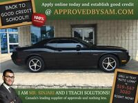 "DODGE CHALLENGER - $0 DOWN - TEXT ""AUTO LOAN"" TO 519 567 3020"