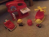 Fire brigade playset
