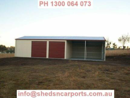 SHED 15X7X2.7 COLORBOND SHEDS GARAGE GRAFTON