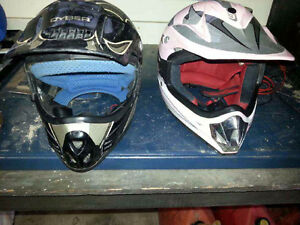 Youth motor cross helmet