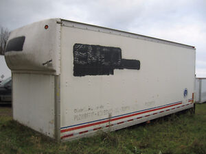 24′ cargo box for storage (not insulated)