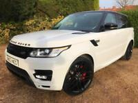 "2014 RANGE ROVER SPORT 3.0 SDV6 HSE 4X4 AUTOBIOGRAPHY LOOK 22"" ALLOYS"