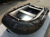 inflatable boat army color