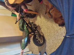 camo pocket bike