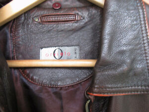 ORVIETO LEATHER BOMBER JACKET West Island Greater Montréal image 4