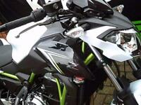 Kawasaki Z650 Pearl Flat Stardust White Brand Nw Pre Registered