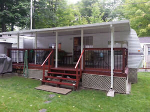 REDUCED 05 Hy-Line Trailer in Bobcaygeon - 2 bedroom & golf cart