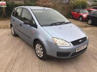 Ford Focus C-MAX 1.8 16v LX, Only 33,700 Miles, Mot, History, 2 Owners
