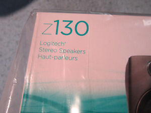 NEW Logitech Speakers Z130 Black Unopened. Computers, MP3 Player Kitchener / Waterloo Kitchener Area image 2