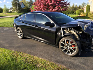 Salvage repairable Buick Regal GS