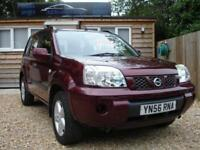 NISSAN X-TRAIL S TD 2006 Diesel Manual in Red