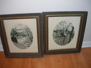 old needlepoint pictures Moose Jaw Regina Area image 1