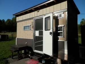Custom Camper Trailer. Excellent for a guest cabin, hunting, etc