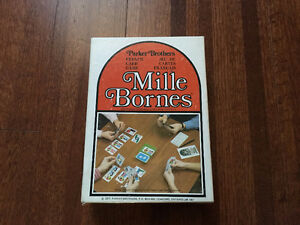 Mille Bornes - Parker Brothers Card Game