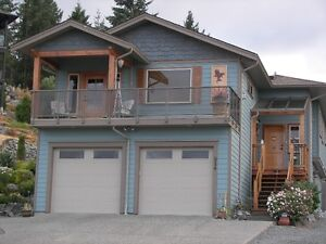VANCOUVER ISLAND OCEAN & MOUNTAIN VIEW HOME - LADYSMITH